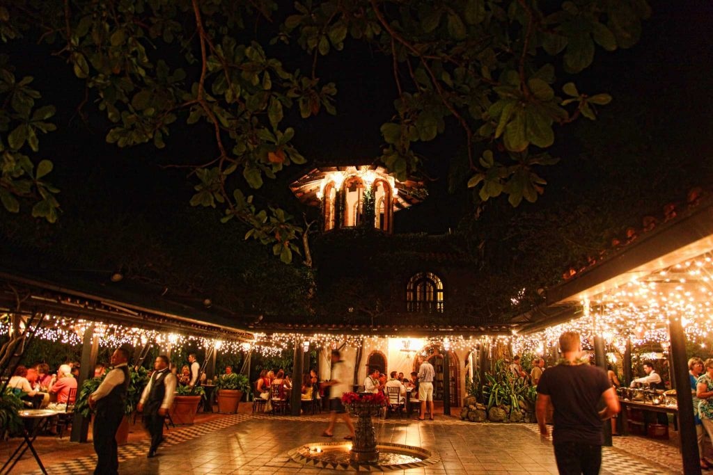 A private dinner for medical executives at the Hacienda in Puerto Rico.