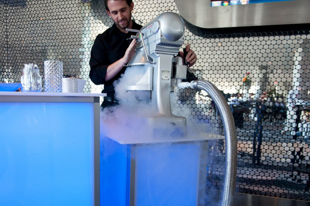 Freeze guests in their tracks with an unforgettable frozen cocktail experience.