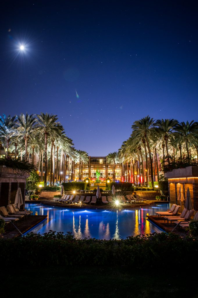 The Hyatt Gainey Ranch in Scottsdale is always a great selection for corporate functions.