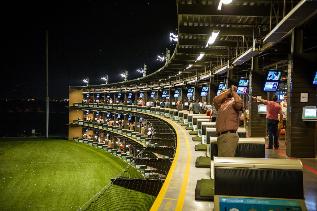 TopGolf is always a hit for any corporate outing!