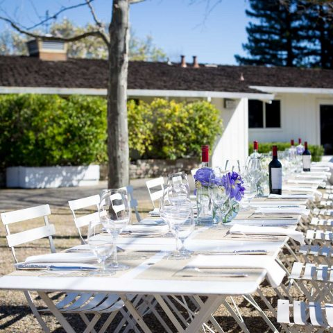 A Garden Lunch At Raymond Vineyard