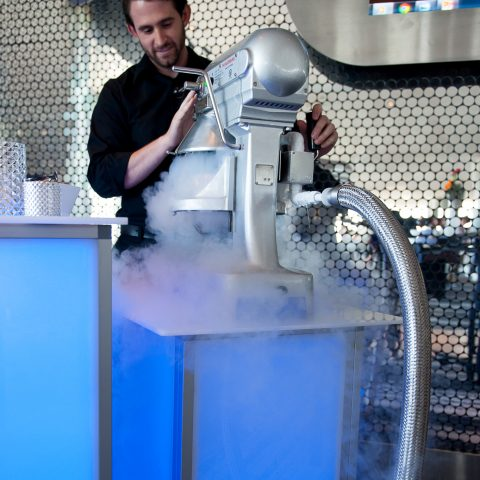 Liquid Nitrogen Dessert And Cocktail Experience