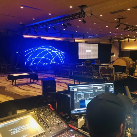 Production Set Up For A Global Conference in Phoenix, AZ