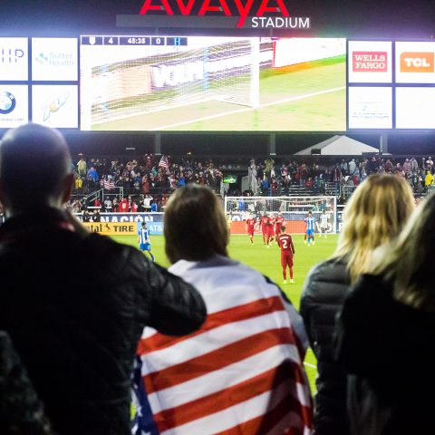 Valued Partners of US Soccer At The USMNT World Cup Qualifying Game