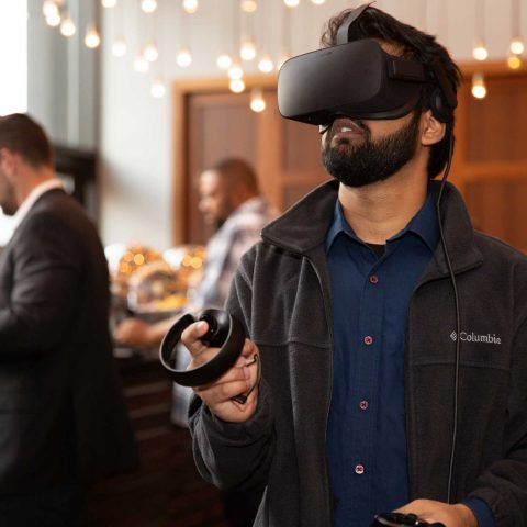 Virtual Experience For The Guests During Breaks At A Summit In NY