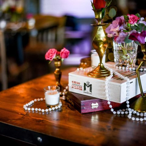 Pearls And Cigar Boxes Sending Us Back To The 1920's