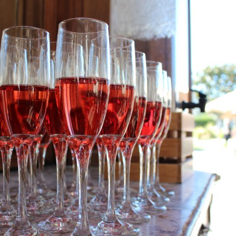 Preset Rose For Guests Arriving At Folktale Winery